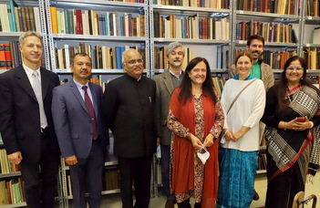 The President of ICCR also gave a lecture apropos of the 75th anniversary of Indian independence.