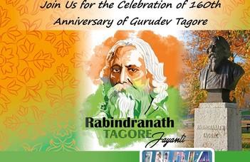 Tagore 160. ünnepség
