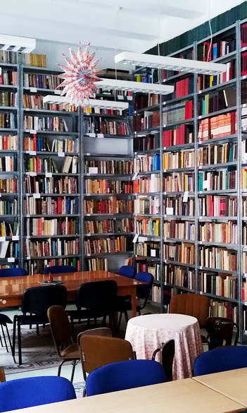 Tanszéki könyvtárunk